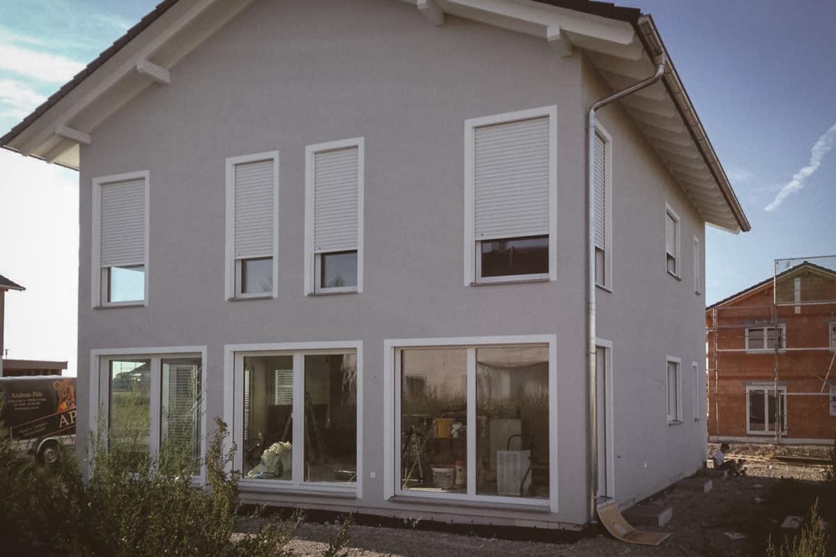Renovierung Außenfassade